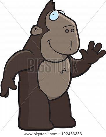 Ape Waving