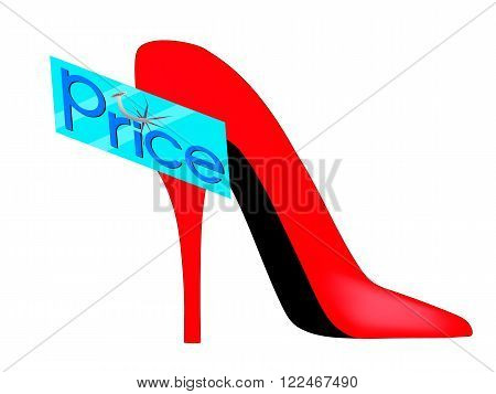 glass plate price nailed a nail to the red shoe
