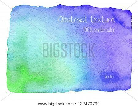 Real Watercolor Abstract Texture.