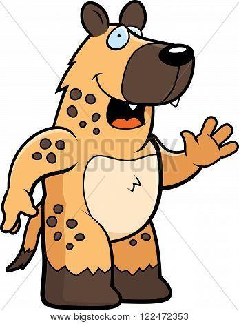 Hyena Waving