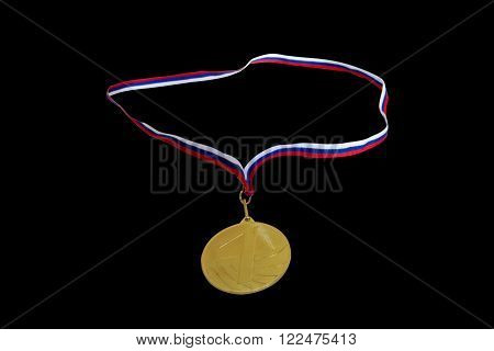 the medal for first place in the competition