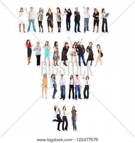 Workforce Concept People Diversity