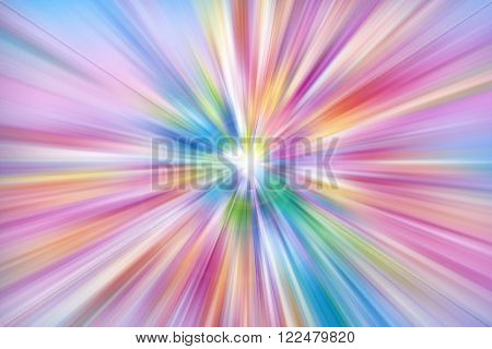 Colorful rays of light explosion background image