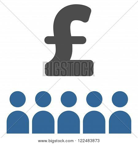 British Business Education vector icon. British Business Education icon symbol. British Business Education icon image. British Business Education icon picture. British Business Education pictogram.