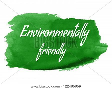 Vector Environmental Eco Label