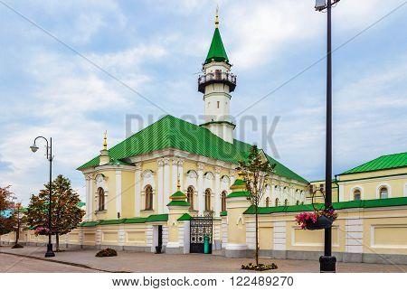Historical al-Marjani mosque in Kazan. Tatarstan. Russia
