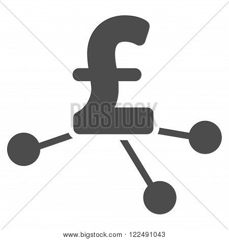 Pound Bank Branches vector icon. Pound Bank Branches icon symbol. Pound Bank Branches icon image. Pound Bank Branches icon picture. Pound Bank Branches pictogram. Flat pound bank branches icon.