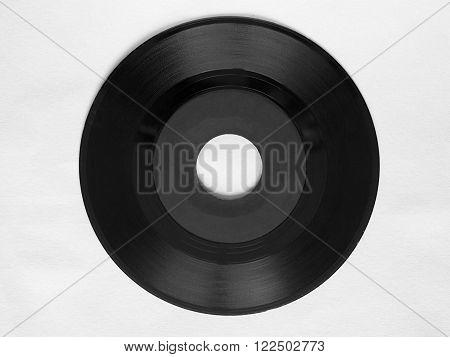 Single Vinyl Record