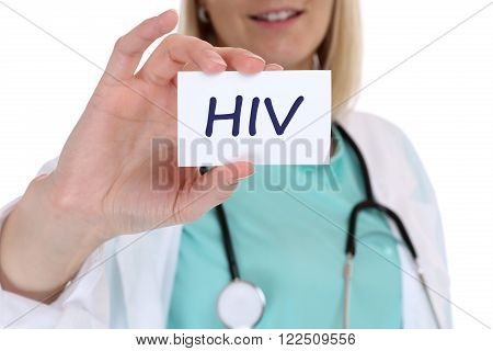Hiv Aids Diagnosis Disease Ill Illness Healthy Health Doctor