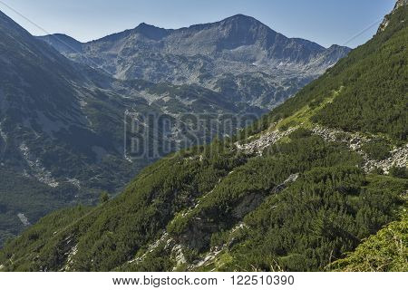 Amazing view of Banderishki Chukar peak, Pirin Mountain, Bulgaria