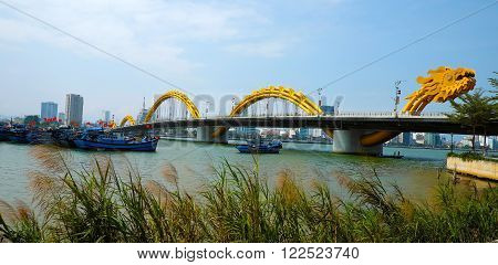 Dragon Bridge, Han River, Da Nang, Vietnam