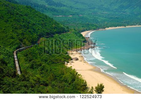 Lang Co Beach, Hue, Train, Railway