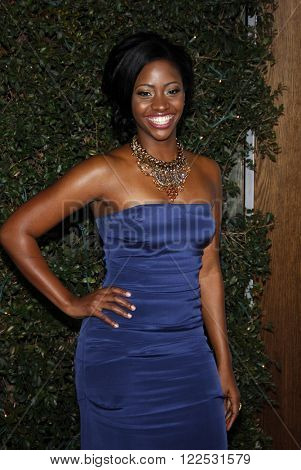 Teyonah Parris at the Los Angeles Premiere of