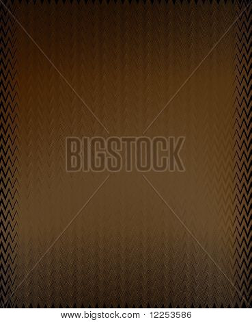 Fancy Edge Brown Background
