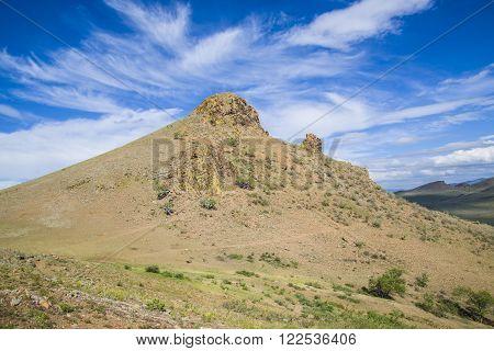 Sacred mountain in the Republic of Buryatia