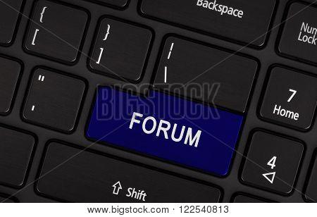 Blue Button - Forum