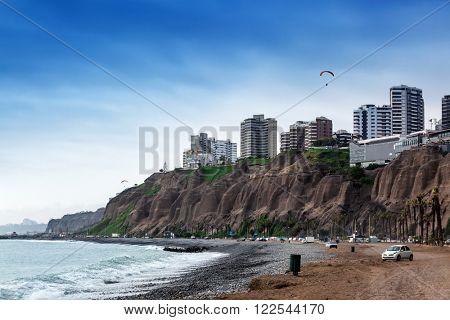 ocean surf at the big city