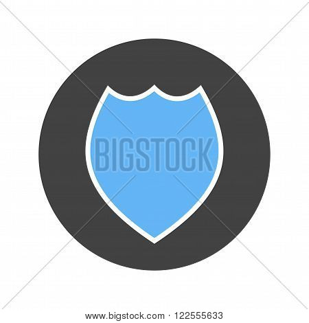 Badge, police, officer icon vector image.Can also be used for security. Suitable for web apps, mobile apps and print media.