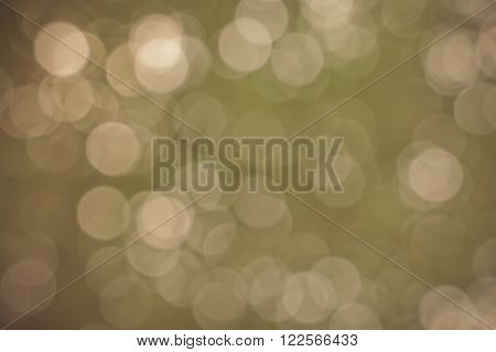 Light blur and bokeh bown color background