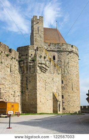 Medieval castle of Carcassonne, Languedoc - Roussillon, France
