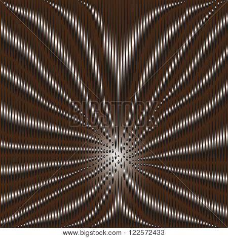 Illustration volumetric pattern