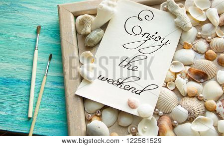 Events Inspirational quote Sommer lettering for posters background Word refer news, current affairs, special occasions business planning
