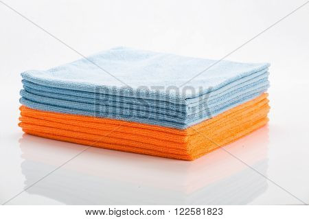 Cleaning Clothes In Different Colors