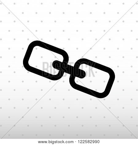 chain link design, vector illustration eps10 graphic