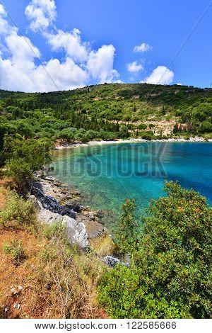 Horgota Beach In Kefalonia Island