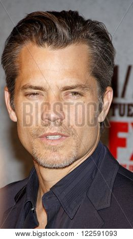 Timothy Olyphant at the Season 3 Premiere of