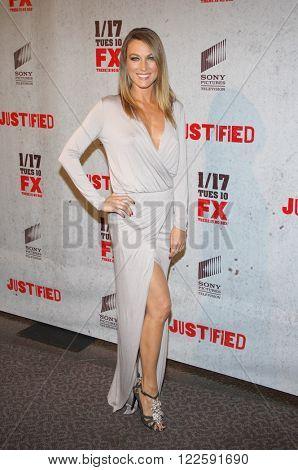 Natalie Zea at the Season 3 premiere screening of