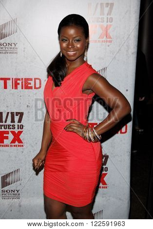 Erica Tazel at the FX's Season 3 Screening of