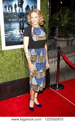 Kristin Lehman at the Los Angeles Season 2 premiere of AMC's 'The Killing' held at the ArcLight Cinemas in Hollywood, USA on March 26, 2012.