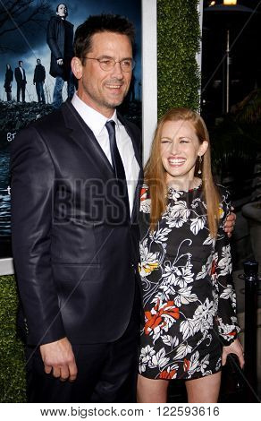 Mireille Enos and Billy Campbell at the Los Angeles Season 2 premiere of AMC's 'The Killing' held at the ArcLight Cinemas in Hollywood, USA on March 26, 2012.