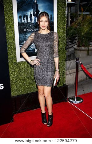 Dayana Mendoza at the Los Angeles Season 2 premiere of AMC's 'The Killing' held at the ArcLight Cinemas in Hollywood, USA on March 26, 2012.