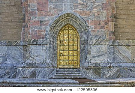 Golden Door At Bok Tower Gardens In Florida