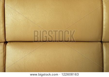 Golden Sofa Leather