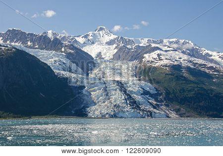 Bryn Mawr Glacier in College Fjord in Southcentral Alaska