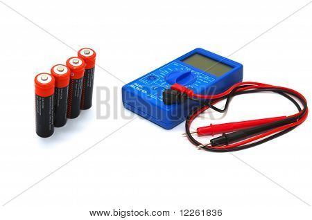 Multimeter with accumulators