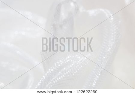 blurred abstract white background fabric texture wave
