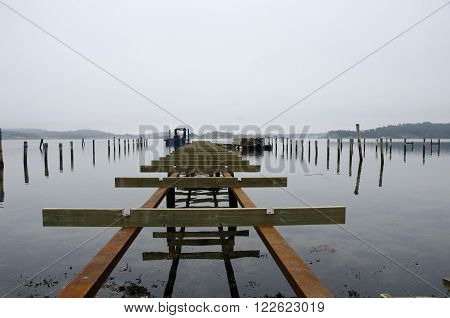 building a new pier on the westcoast in sweden