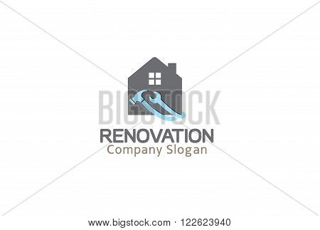 Renovation Creative And Symbolic Tools Design Illustration
