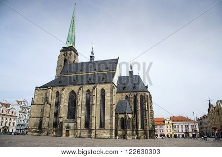 Cathedral Of St. Bartholomew In Pilsen, Czech Republic