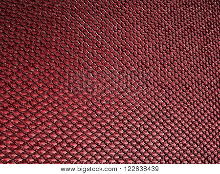 Vinous Or Red Scales Glossy Texture