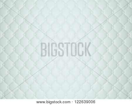 White Or Grey Leather Pattern With Buttons And Bumps
