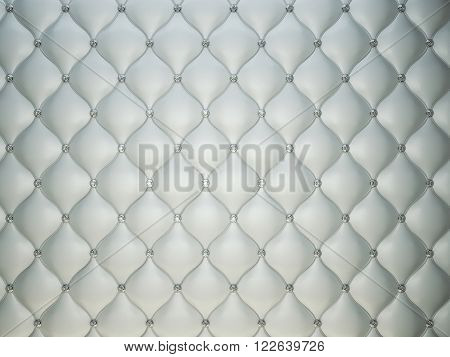 Luxury Grey Leather Background With Diamonds Or Gemstones