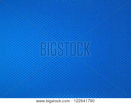 Scales Or Squama Blue Texture Or Metallic Background