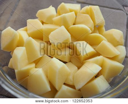 Diced Potato Vegetables