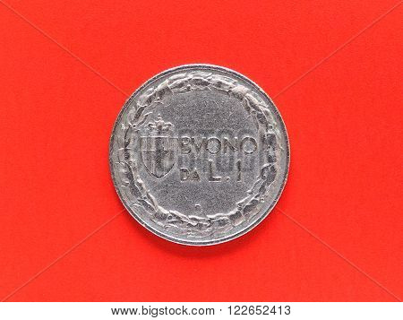 Ancient Italian Coin