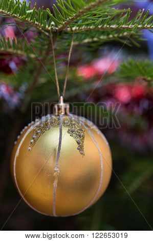 Christmas Balls Outdoors